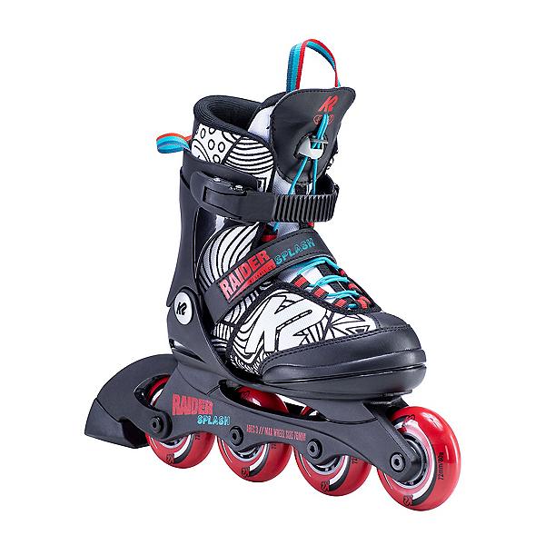 K2 Raider Splash Adjustable Kids Inline Skates 2020, , 600