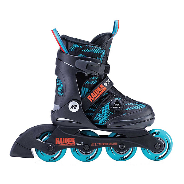 K2 Raider Boa Adjustable Kids Inline Skates, , 600