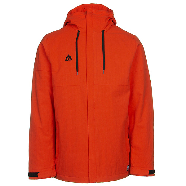 Matix Glenic Mens Insulated Snowboard Jacket, Burnt Orange, 600