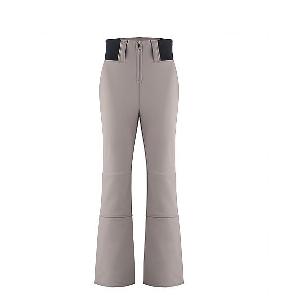 Poivre Blanc Softshell Womens Ski Pants, Soba Brown, 600