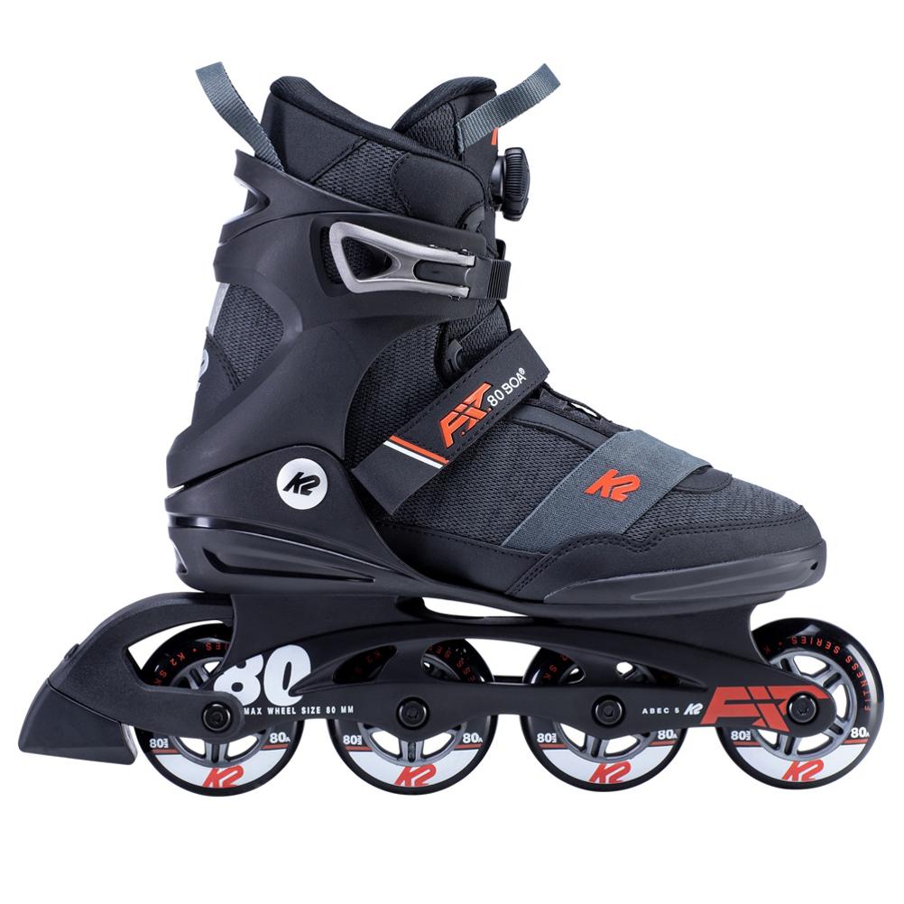K2 F.I.T. 80 Boa Inline Skates 2020 im test