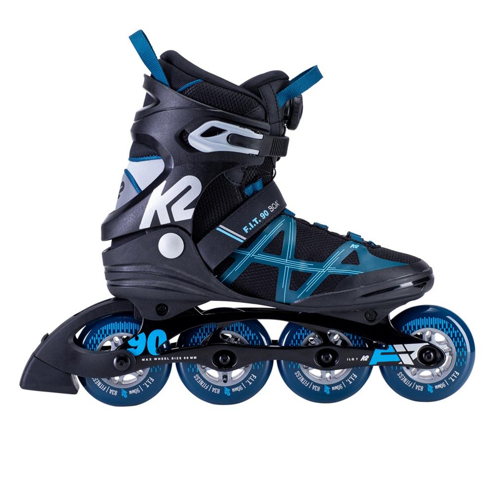 K2 F.I.T. 90 Boa Inline Skates 2020 im test