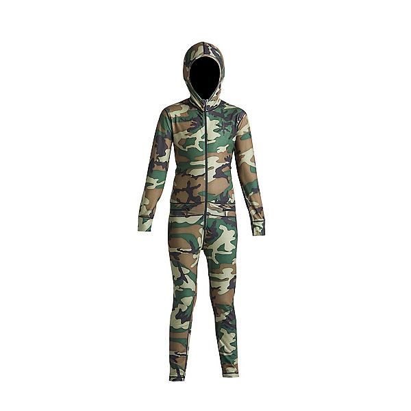 Air Blaster Youth Ninja Suit Kids Long Underwear Top, Camouflage, 600