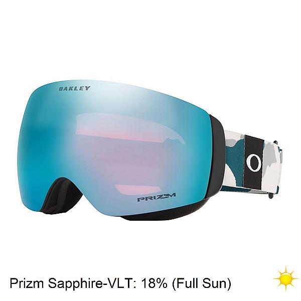 Oakley Flight Deck XM Prizm Womens Goggles 2020, Balsam Camo-Sapphire Iridium, 600