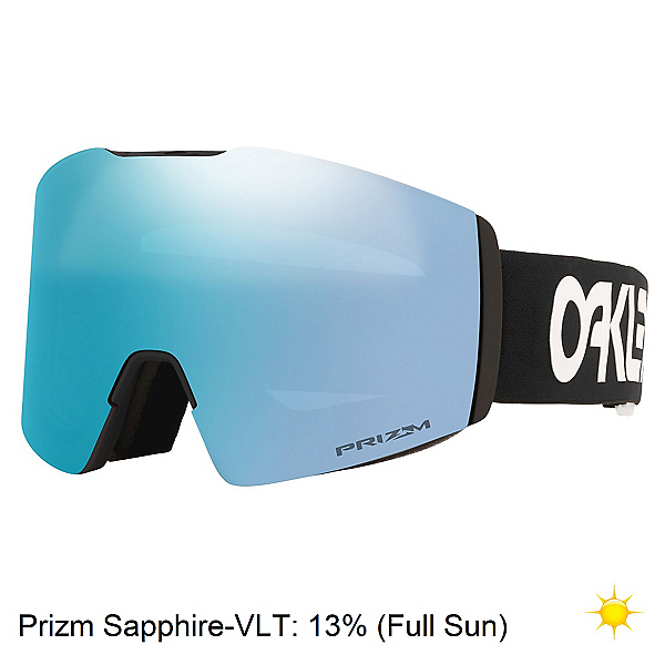 Oakley Fall Line XL Goggles, Factory Pilot Black-Prizm Sapp, 600