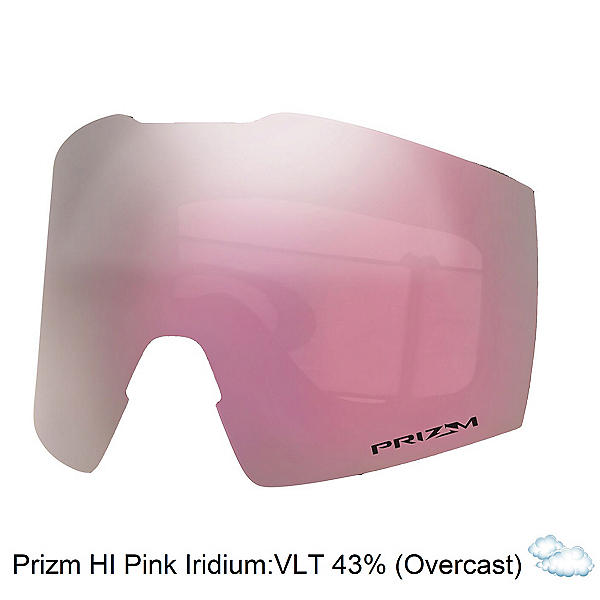 Oakley Fall Line XL Goggle Replacement Lens, Prizim Hi Pink, 600
