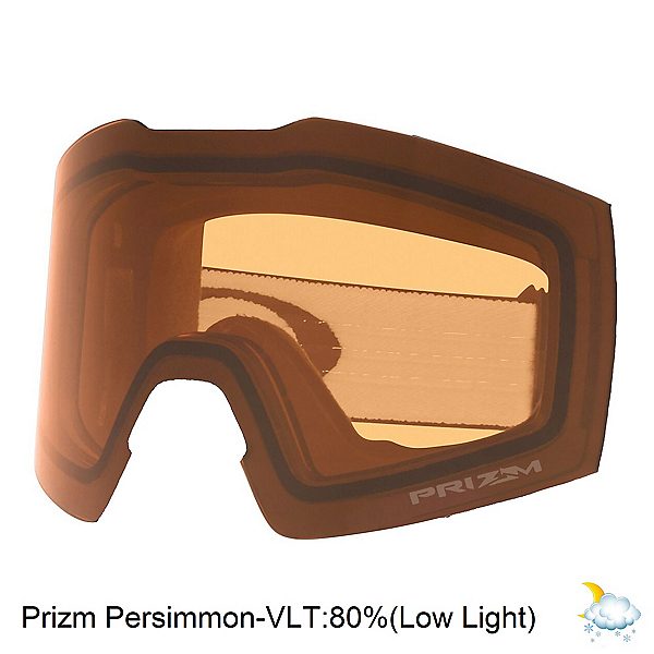 Oakley Fall Line XM Prizm Goggle Replacement Lens, Prizm Persimmon, 600