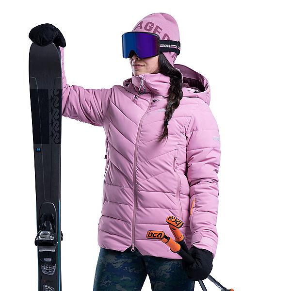 Orage Riya Womens Insulated Ski Jacket 2020, Pick Lotus, 600