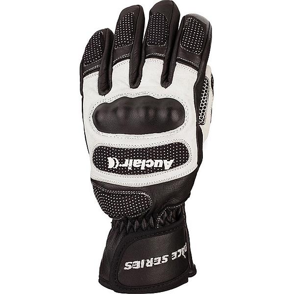 Auclair Keyhole Junior Ski Racing Glove 2019, Black-White-Black, 600