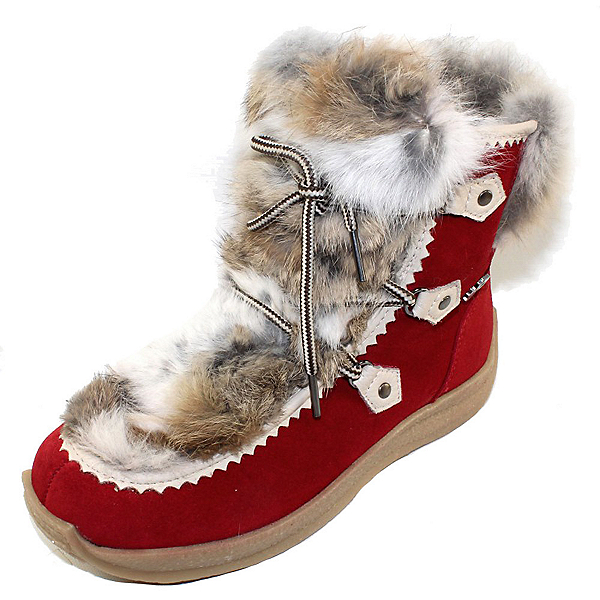 Pajar Suzie Womens Boots, Suede Red, 600