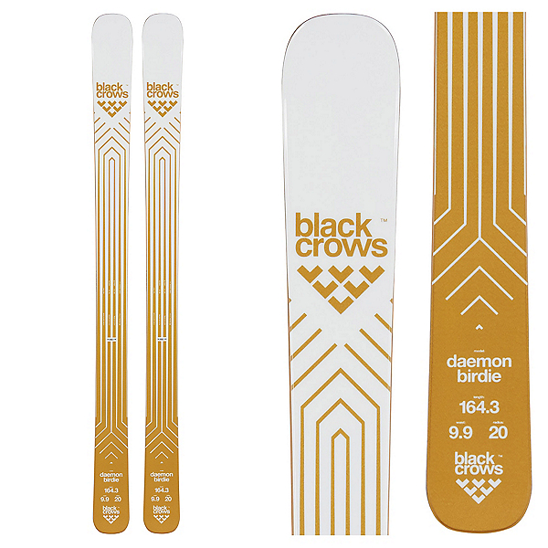 Black Crows Daemon Birdie Womens Skis 2020, , 600