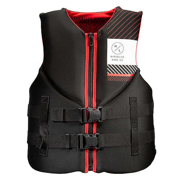 Hyperlite Indy Neo Adult Life Vest 2020, Red, 600