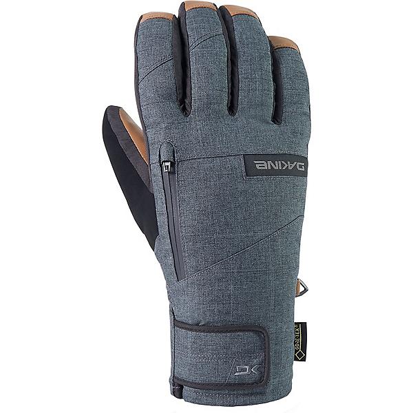 Dakine Leather Titan Gore-Tex Short Cuff Gloves, Carbon, 600