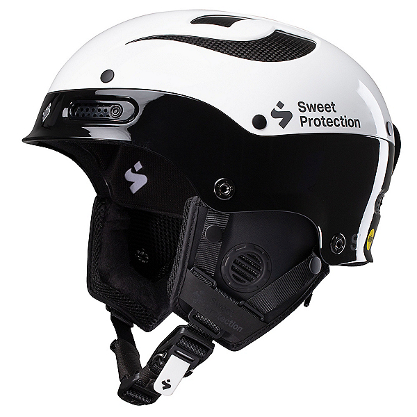 Sweet Protection Trooper II SL MIPS Helmet 2020, Gloss White-Gloss Black, 600