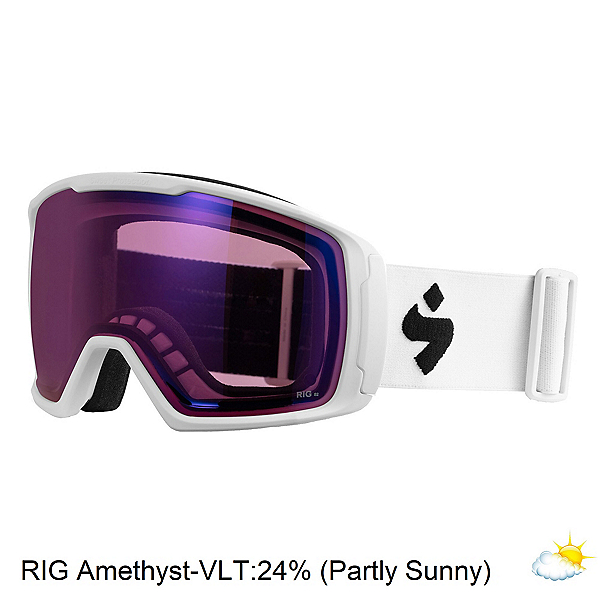 Sweet Protection Clockwork RIG Goggles 2020, Satin White-Rig Amethyst, 600