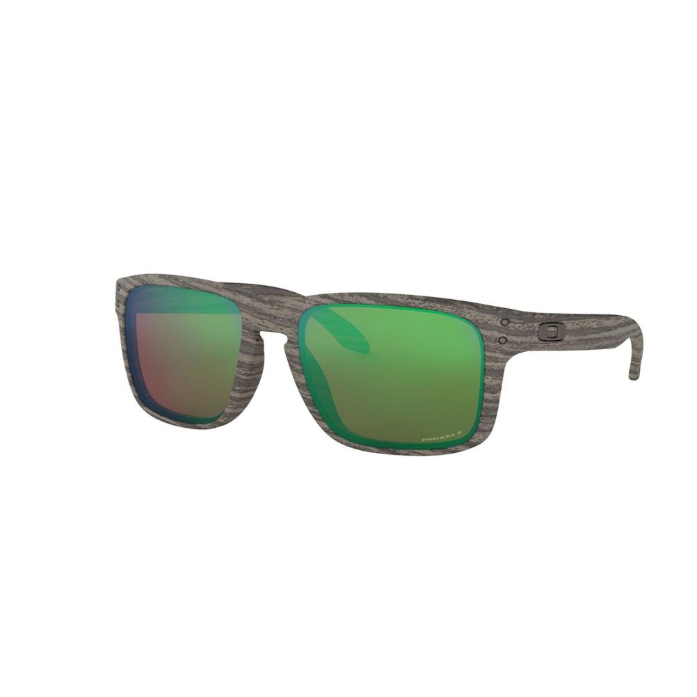 Oakley Holbrook Woodgrain Prizm Polarized Sunglasses 2019