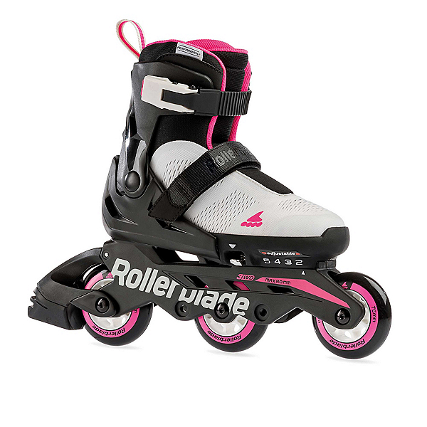 Rollerblade Microblade Free 3WD Adjustable Girls Inline Skates 2020, , 600
