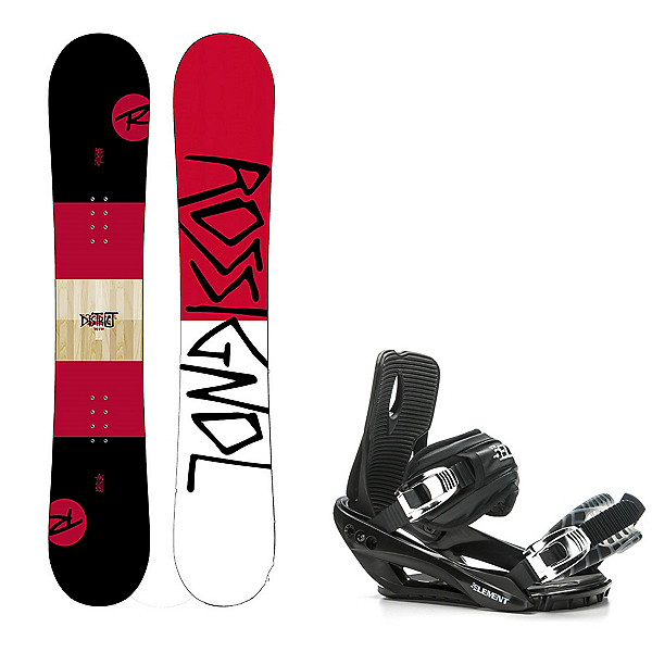 Rossignol District Snowboard and Binding Package, , 600