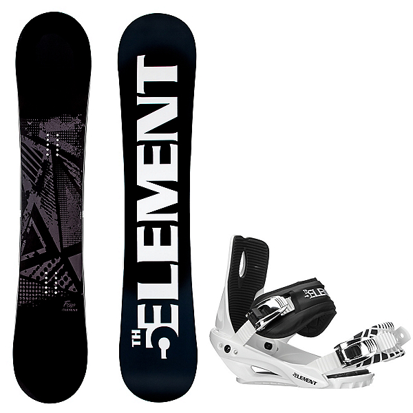 5th Element Forge Wide Snowboard and Binding Package 2020, , 600