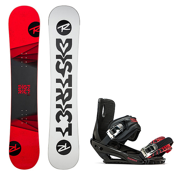 Rossignol District Snowboard and Binding Package 2020, , 600