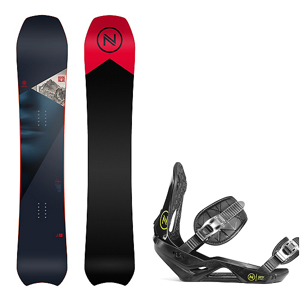 Nidecker Area Snowboard and Binding Package, , 600