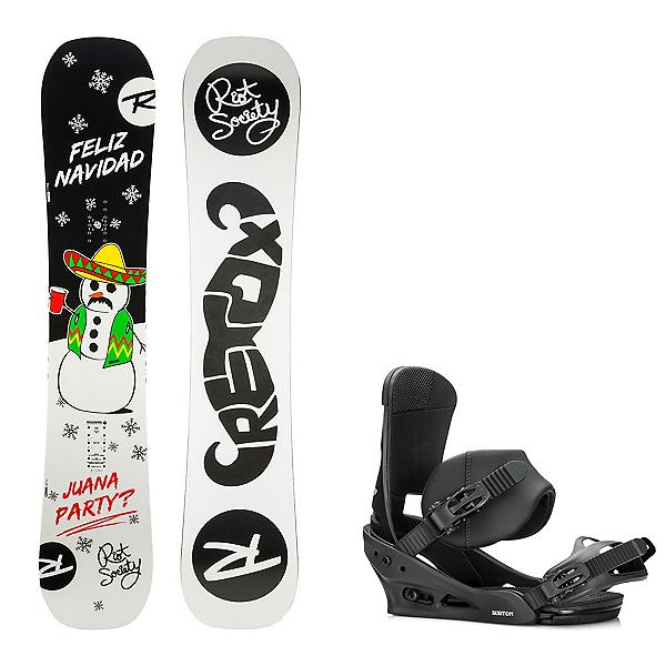 Rossignol Retox Snowboard and Binding Package, , 600