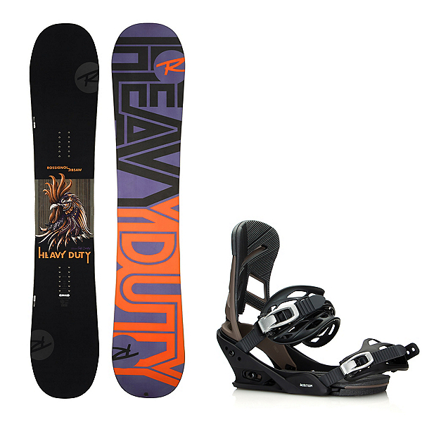 Rossignol Jibsaw Heavy Duty Wide Snowboard and Binding Package, , 600
