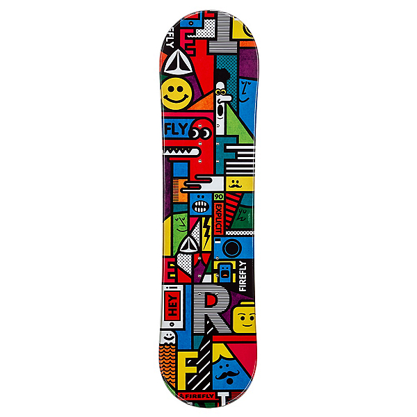 Firefly Explicit Boys Snowboard, , 600