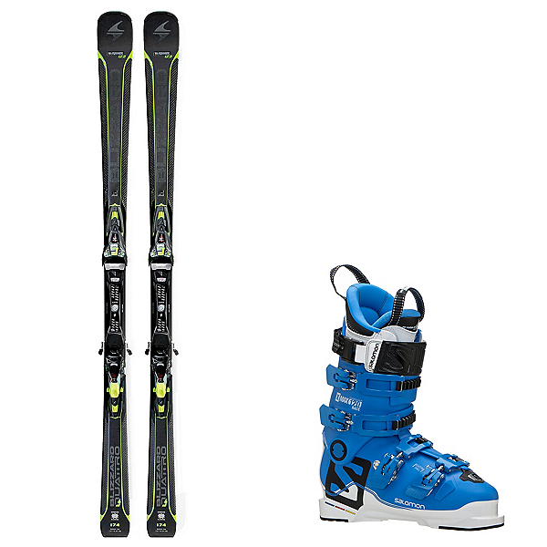 Blizzard Quattro 7.2 Ski Package, , 600