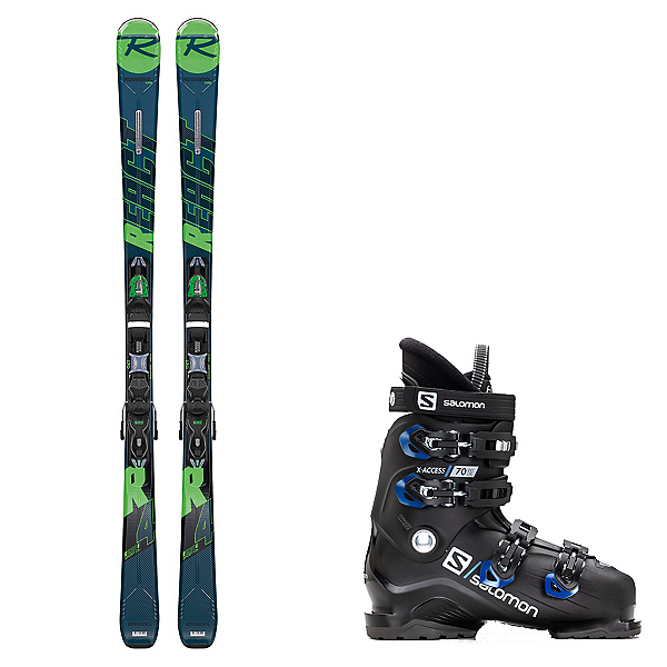 Rossignol React R4 Sport Ski Package 2020, , 600