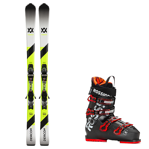 Volkl Deacon 8.0 with Track 80 Ski Package 2020, , 600