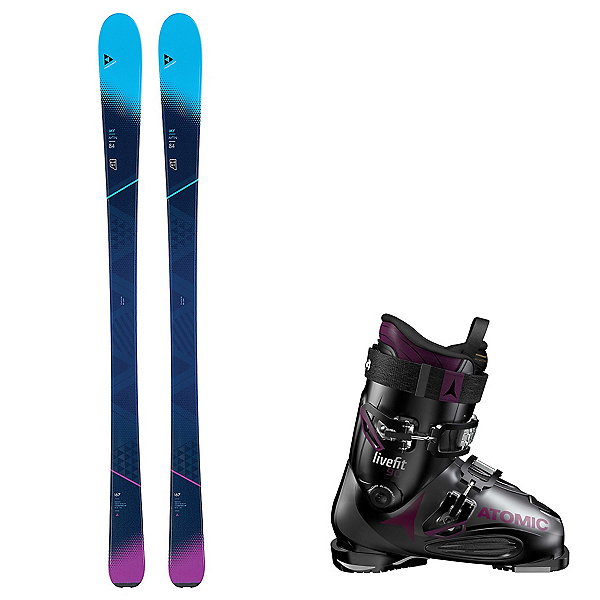 Fischer My Mountain 84 with Live Fit Womens Ski Package, , 600
