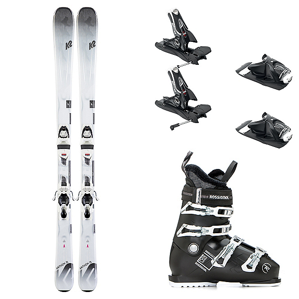 K2 Anthem 75 with Pure Comfort Womens Ski Package 2020, , 600