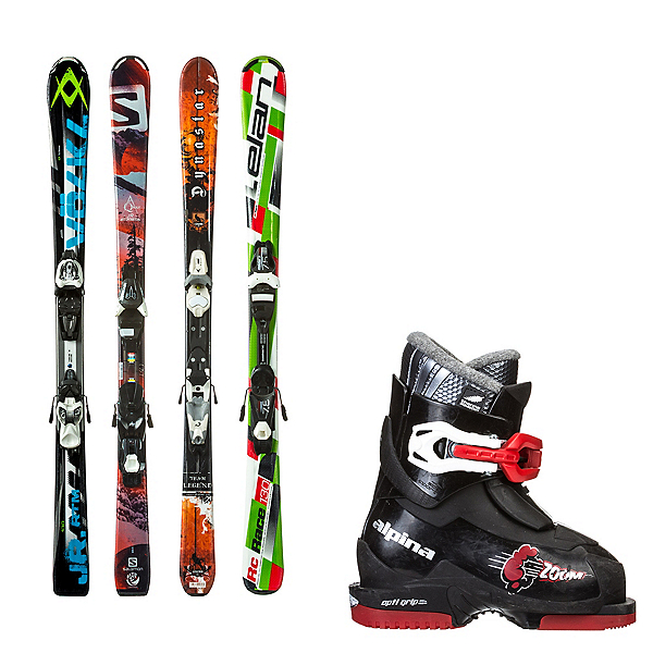 Used System Kids Ski Package, , 600