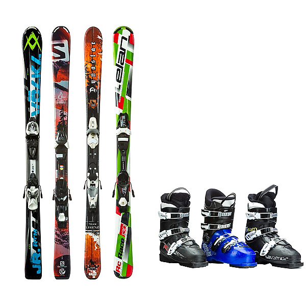 Used Used System Kids Ski Package, , 600