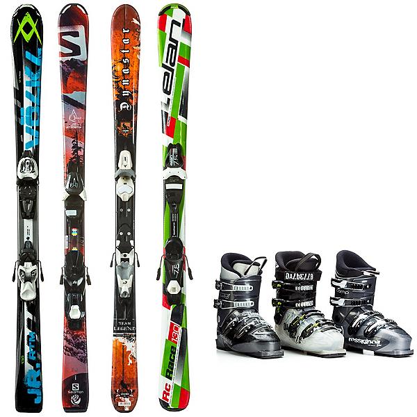 Used System Junior Ski Package Kids Ski Package, , 600
