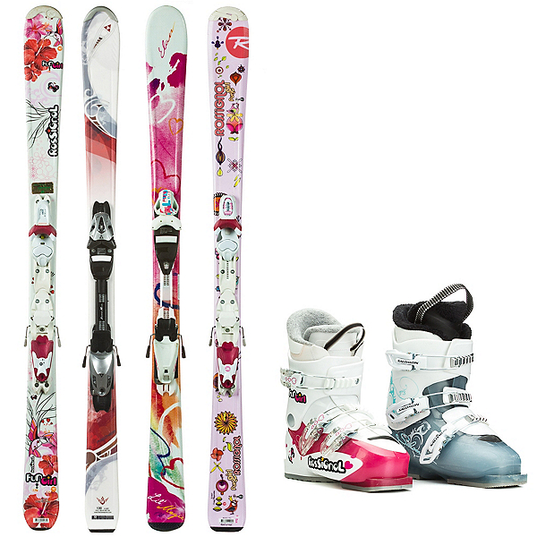Used System Junior Girls Ski Package, , 600