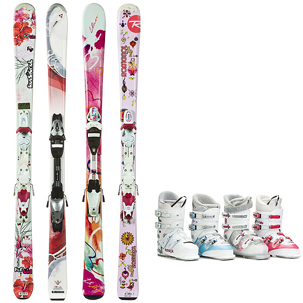 Used System Ski Girls Ski Package, , 600
