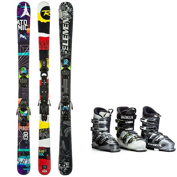 Used Twin Tip Junior Ski Package, , 600