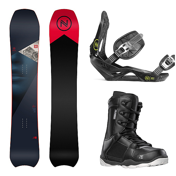 Nidecker Area Complete Snowboard Package, , 600