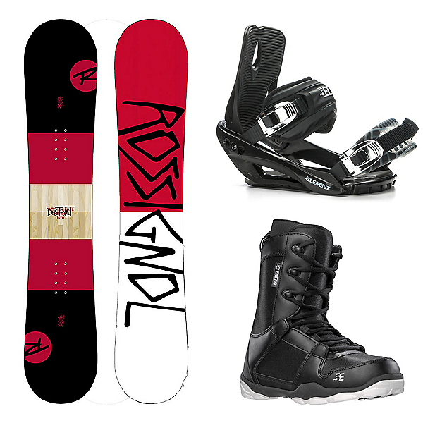 Rossignol District Complete Snowboard Package, , 600