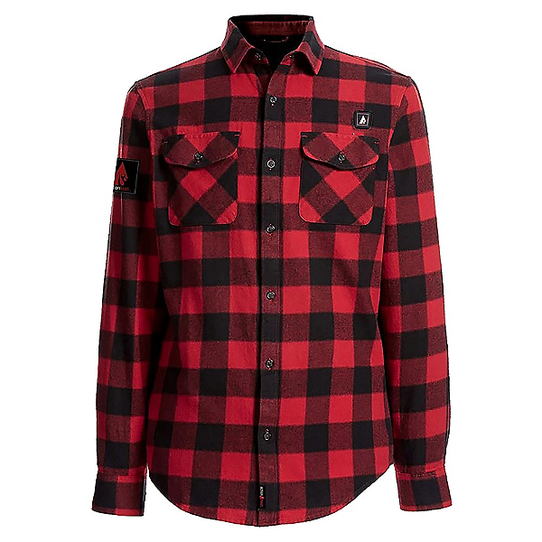 Action Heat 5 V Heated Flannel Shirt, , 600