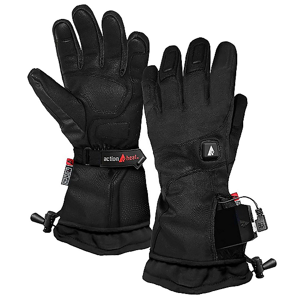 Action Heat 5 V Premium Heated Womens Gloves 2020, , 600
