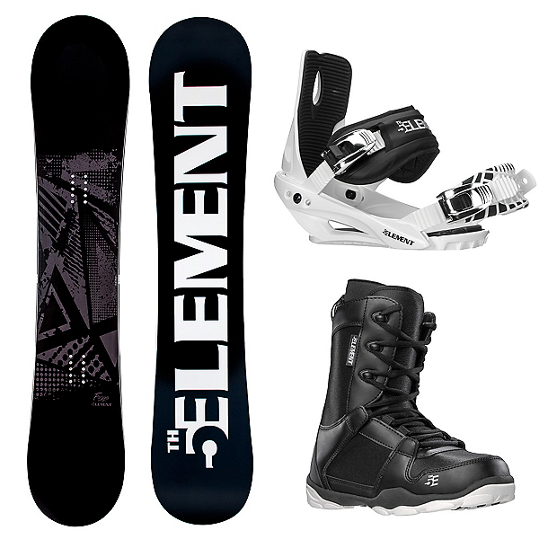 5th Element Forge Complete Snowboard Package 2020, , 600