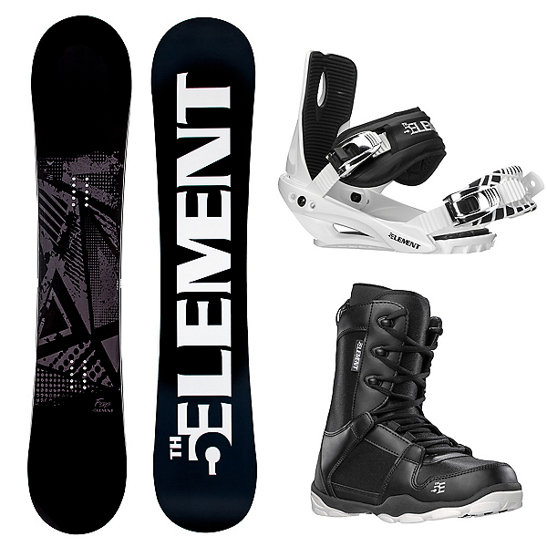 5th Element Forge Wide Complete Snowboard Package 2020, , 600
