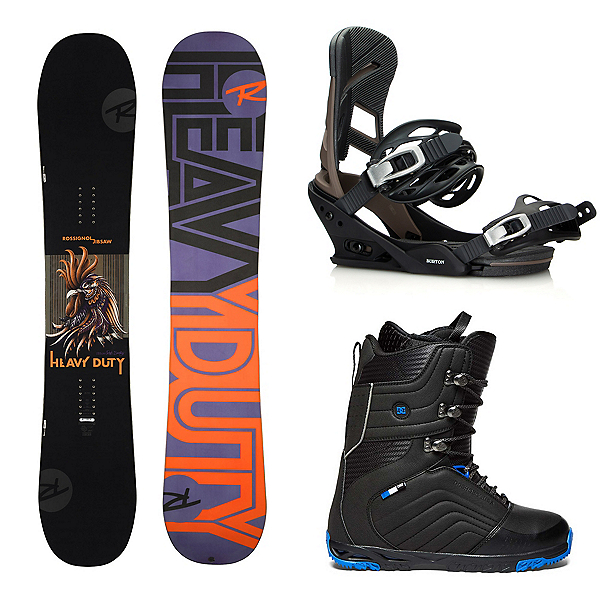 Rossignol Jibsaw Heavy Duty with Burton Mission Complete Snowboard Package, , 600