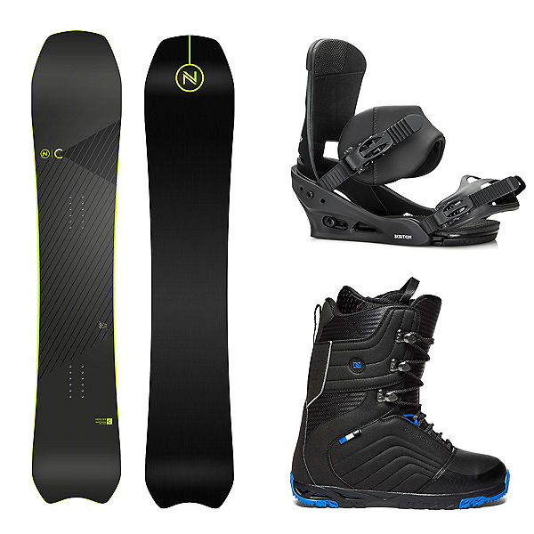 Nidecker Concept Complete Snowboard Package, , 600