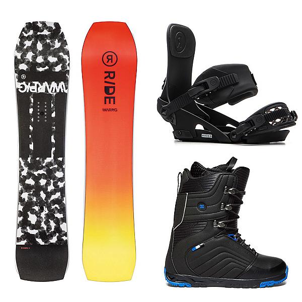 Ride Warpig Complete Snowboard Package 2020, , 600