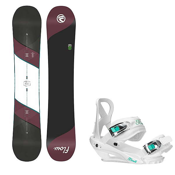 Flow Bella Womens Snowboard and Binding Package, , 600
