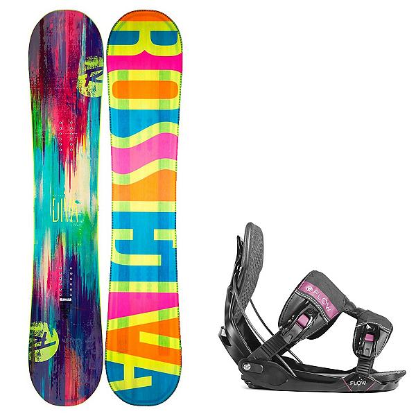 Rossignol Diva Womens Snowboard and Minx Binding Package, , 600